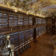 Strahov, klášterní knihovna